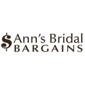 Ann's Bridal Bargains Coupons & Promo Codes